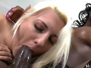Choco tranny Chanel Couture drills pussy